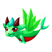 Green Quetzal Baby