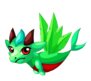 Green Quetzal Dragon