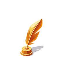 Feather Bronze Trophy
