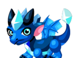 Frost Sapphire Dragon
