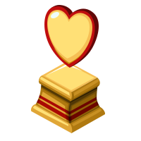 Lover Gold Trophy