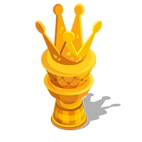 Cake Gold Trophy