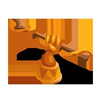 Wand Bronze Trophy