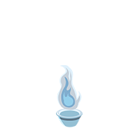 Flame Silver Trophy