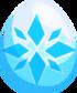 White Christmas Egg
