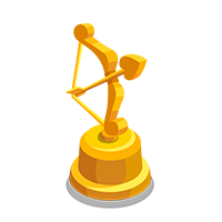 Cupid Gold Trophy