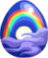 Lunar Rainbow Egg