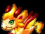 Gold Lion Dragon