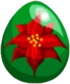 Poinsettia Egg