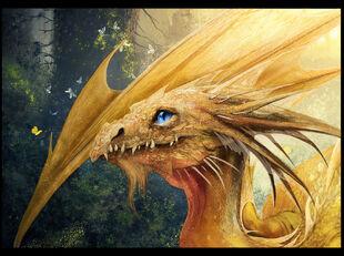 Dragon fragment by irish blackberry-d64auam