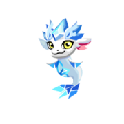 Crystal Ornament Baby