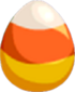 Candy Corn Egg
