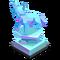 Direwolf Crystal Trophy