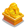 Gilded Sphinx