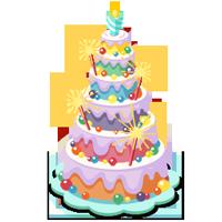 Six Tier Cake