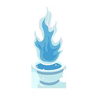 Flame Diamond Trophy