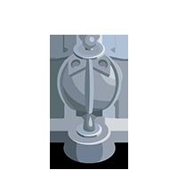 Lantern Silver Trophy
