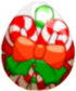 Candy Cane Egg