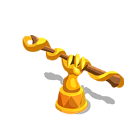 Wand Gold Trophy