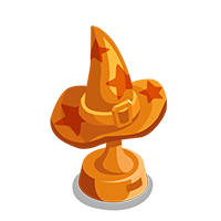 Witch Bronze Trophy
