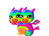Double Rainbow Dragon