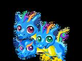 Triple Rainbow Dragon