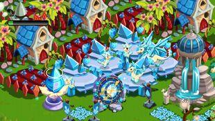 Diamond fields forever