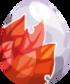 Red Leaf Egg