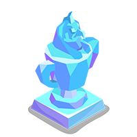 Canopic Crystal Trophy