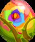 Rainbow Rose Egg