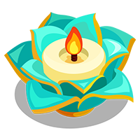 Lotus Candle