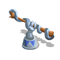 Wand Silver Trophy