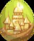 Sand Castle Egg