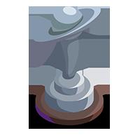 Interstellar Silver Trophy
