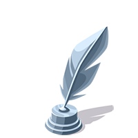 Feather Silver Trophy
