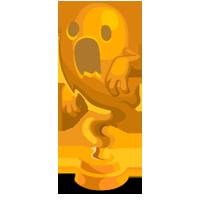 Spooky Gold Trophy