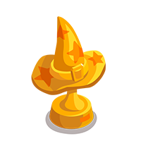 Witch Gold Trophy