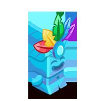Turquoise Tiki