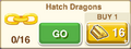 Hatch Dragons Gold Chain