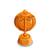 Lantern Bronze Trophy