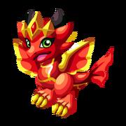 Flame Queen Baby