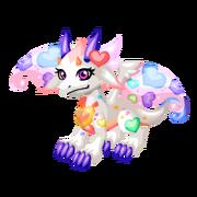Rainbow Heart Juvenile