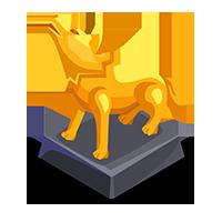 Direwolf Gold Trophy
