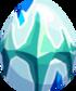 Icy Aquamarine Egg