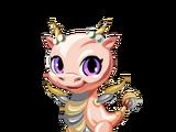 Rose Gold Dragon