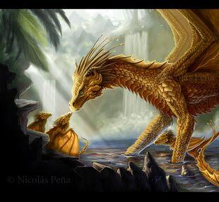 Wheat dragon