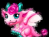 Pink Rose Dragon