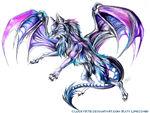 Dragon wolf tattoo by lucky978-d68jkhz