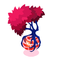 Sunlit World Tree