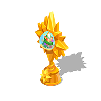 Holiday Gold Trophy